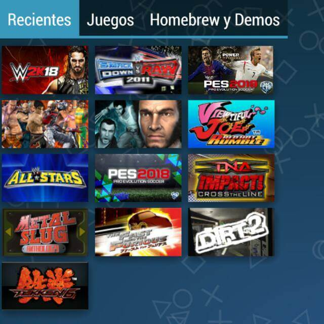 Juegos android y ppsspp