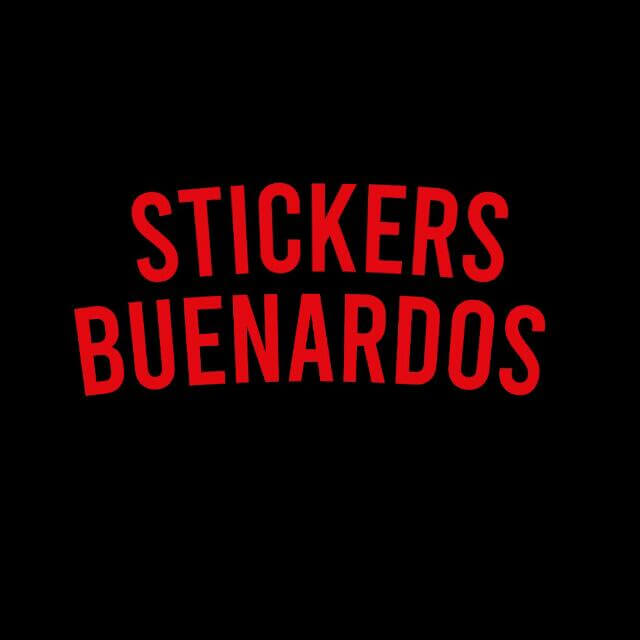 STICKERS BUENARDOS